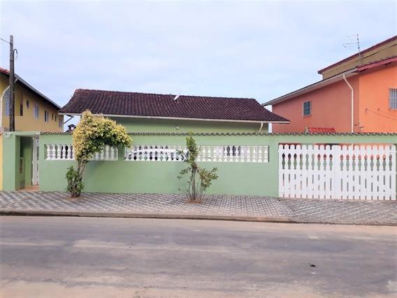 Casa 03 Dormitórios Em Mongaguá-sp