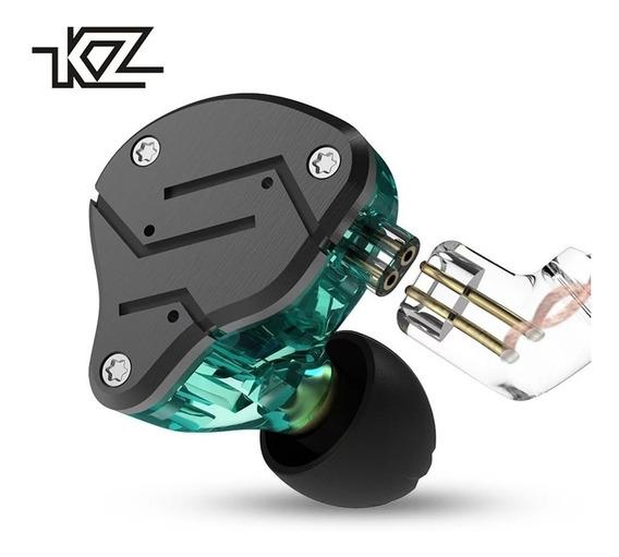 Fone Kz Zsn C/ Mc + Case Kz