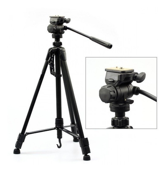 Tripé Para Câmeras E Filmadoras Weifeng Wt-3715 1,47m