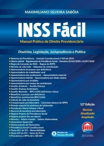 Imagem 1 de 1 de Inss Fácil - Manual Prático De Direito Previdenciário