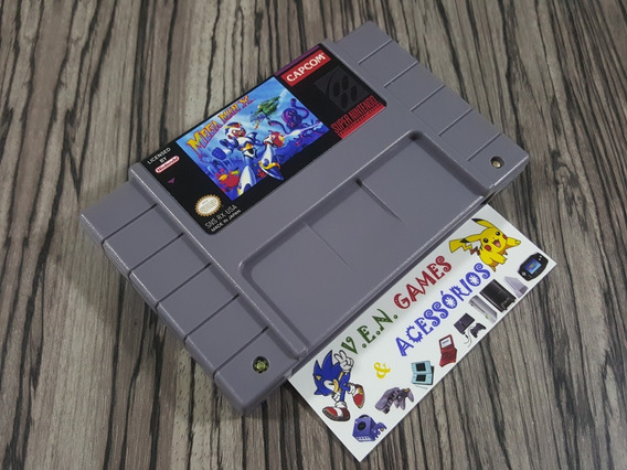 Mega Man X + Final Fight 3 + Top Gear 1 P/ Snes + Garantia!