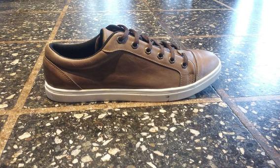 Zapatillas De Cuero - Talle 39 Al 45