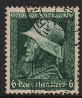 Alemania Estampilla Del Tercer Reich 1935