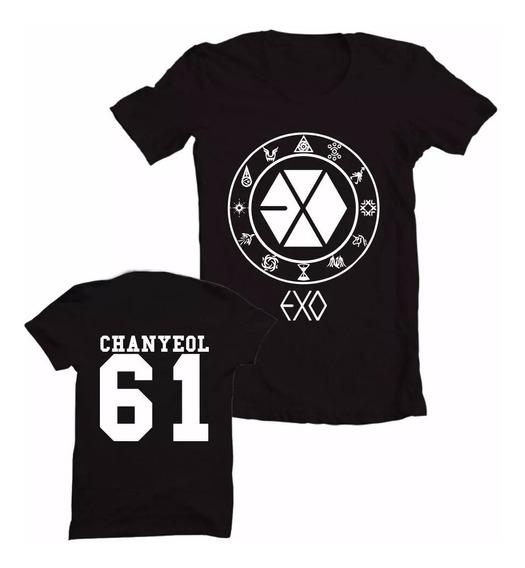 Baby Look Queima De Estoque! K-pop Exo Chanyeol 61