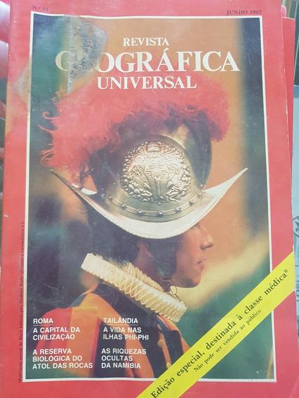 Oleção Revistas Geográfica Universal - 10 Exemplares