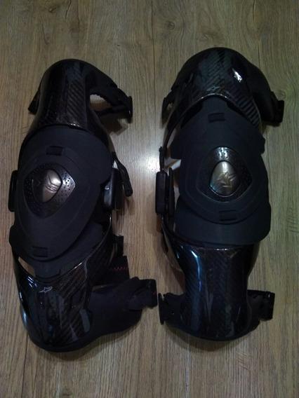 Rodilleras Carbón K2 Knee Brace, Talle L El Par.