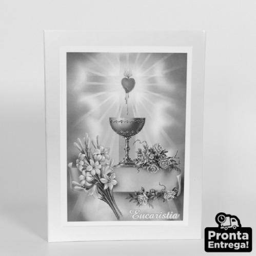 Álbum Fotográfico 15x21 24 Fotos Eucaristia Menina