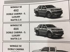 Great Wall Wingle 5 Extra Full Nafta 2.2 -100 % Financiada