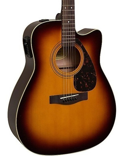 Guitarra Electroacustica Yamaha Fx370 Tbs Linea 2019 Envío G