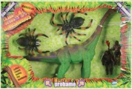 Dinosaurio Con Sonido Brachiosaurus Y Accesorios Miluplast