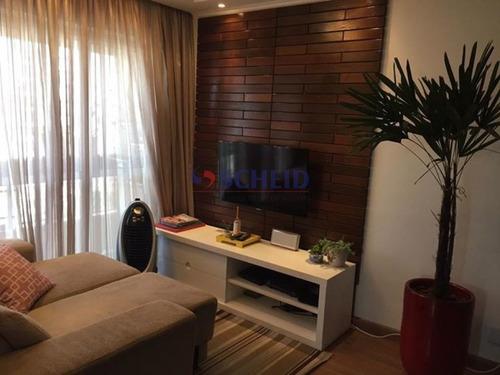 Imagem 1 de 15 de Apartamento,72 M2; Três Dormitórios, 1 Suíte, Duas Vagas Em Vila Santa Catarina - Mc8974