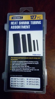Kit Termoencogibles Para Cables 127 Piezas