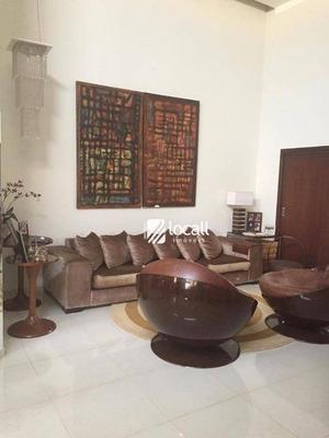 Casa Com 3 Dormitórios À Venda, 200 M² Por R$ 680.000 - Condominio Village Dhama - Mirassol/sp - Ca1889