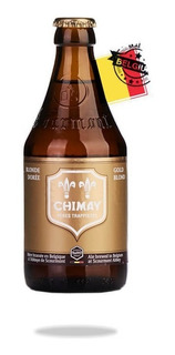 Pack X4 Chimay Doree 330 Ml - 12 Canillas Tienda