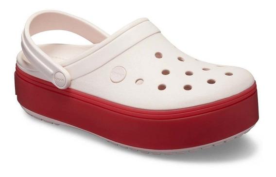 Crocs Crocband Platform Barely Pink / Pepper