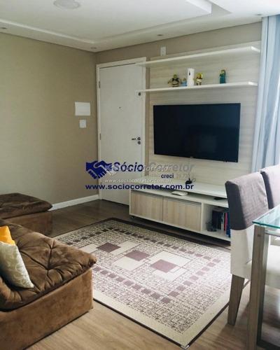Imagem 1 de 15 de Vendo Apto 41 M² - 2 Dorms - Parque Santa Clara  Cumbica - Apartamento A Venda No Bairro Vila Alzira - Guarulhos, Sp - Sc01159