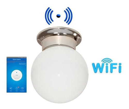 Imagen 1 de 1 de Wifi Lampara Tipo Globo App On-off