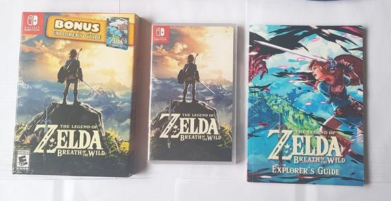 Jogo Zelda Breath Of The Wild Bonus Explorer