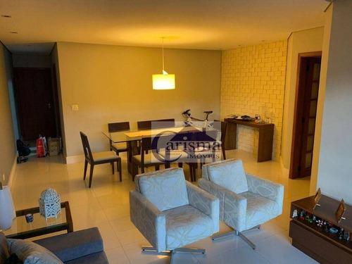 Imagem 1 de 9 de Apartamento Com 3 Dormitórios, Sendo 1 Suíte, À Venda, 120 M² - Santa Maria - Santo André/sp - Ap4039