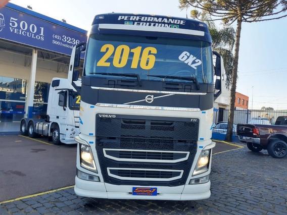 Volvo Fh 460 Globetrotter 6x2 2016 Suspensão Pneumática
