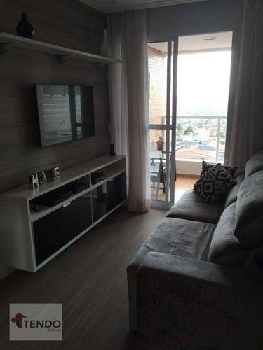 Apartamento 66 M² - Venda - 2 Dormitórios - 1 Suíte - Santa Terezinha - São Bernardo Do Campo/sp - Ap2262