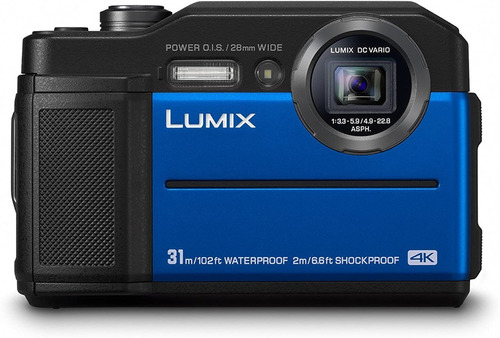Imagen 1 de 1 de  Panasonic Dc-ft7eb-a 4k Waterproof Tough Compact Camera
