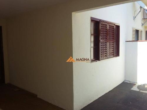 Casa Para Alugar Por R$ 700,00/mês - Ipiranga - Ribeirão Preto/sp - Ca2176