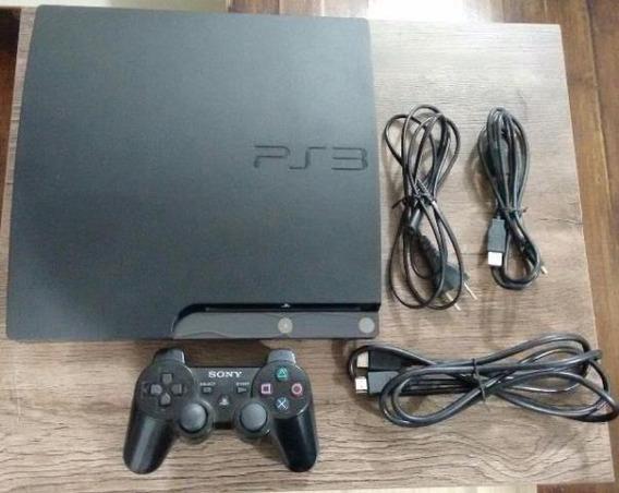 Playstation 3 120gb Desb. Fifa 19 1 Controle E Jogos No Hd.