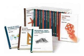 Libros Colección El Mundo Es Matematico X Un