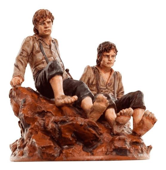 Frodo E Sam Miniatura O Senhor Dos Anéis