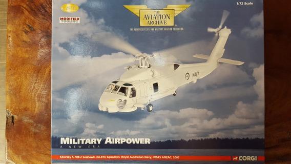 Helicóptero Die Cast 1:72 Sikorsky S70 Seahawk Corgi Aa35904