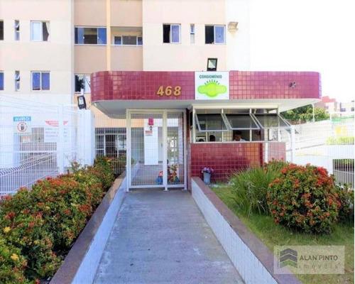Apartamento Com 2 Dormitórios À Venda, 67 M² Por R$ 290.000,00 - Daniel Lisboa - Salvador/ba - Ap0625