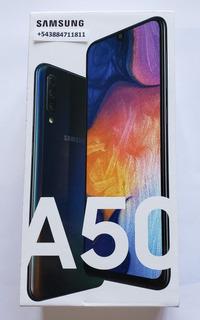 Samsung A50 64gb 4gb Libre Nuevo Original Envio Gratis