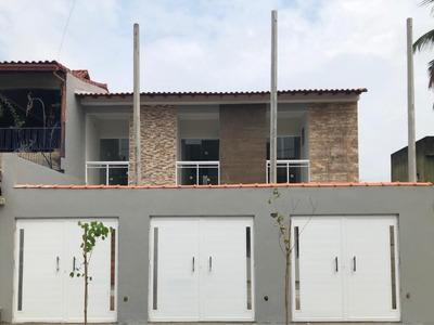Casa C/2 Suíte Sendo 1 C/ Sacada, Banheiro Social E Garagem. N.iguaçu/dom Rodrigo. - Ca00561 - 33518696