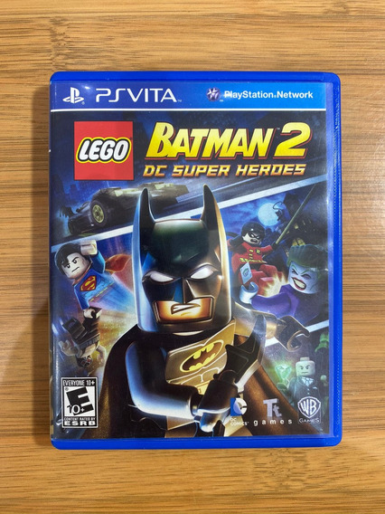 Jogo Lego Batman 2 Dc Super Heroes Psvita Mídia Física