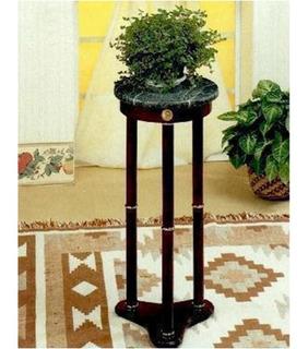 Mesa Pedestal Lateral Para Adornos O Teléfono Marmol