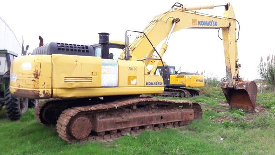 Excavadora Komatsu Pc 300 2007 M/buena 12 Cheq De U$s 9.500
