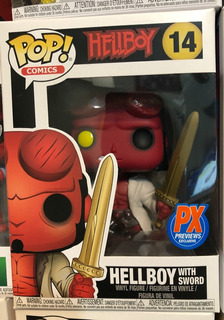 Hellboy With Sword Pop! Vinyl Figure Px 14 Funko