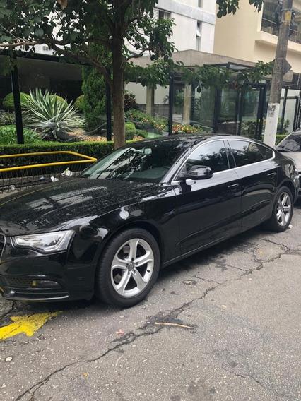 Audi A5 2.0 Ambiente Automático 2014 Preto Com Teto Solar
