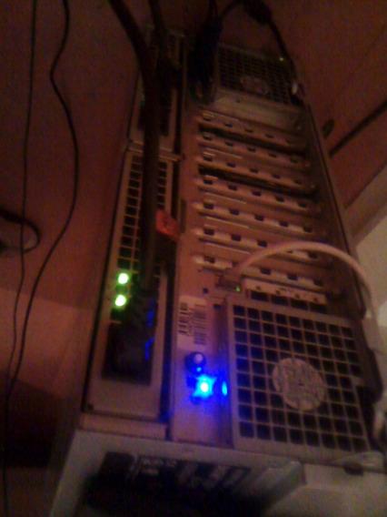 Configuração Do Servidor: Power Edge R900 Quantidade De Processadores: 4 Modelo Processador: E7450 S