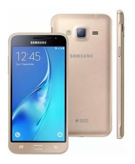 Samsung Galaxy J3 6 Dourado - Sm J320m 4g Quad Core Original