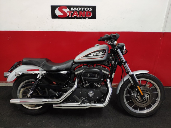 Harley Davidson Sportster Xl 883 R 2013 Prata
