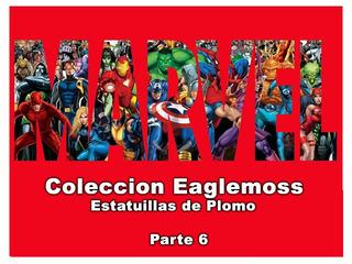 Eaglemoss Figuras De Plomo - Marvel - 6