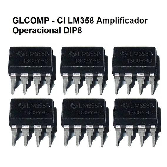 Lm358 Ka358 Ci Amp. Operacional Dip8 Kit C/ 20 Peças - Carta