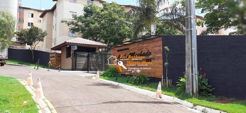 Apartamento Ed. Res. Carlos Machado,  Com 2 Dormitórios À Venda, 55 M² Por R$ 100.000 - Nova Olinda - Londrina/pr - Ap0048