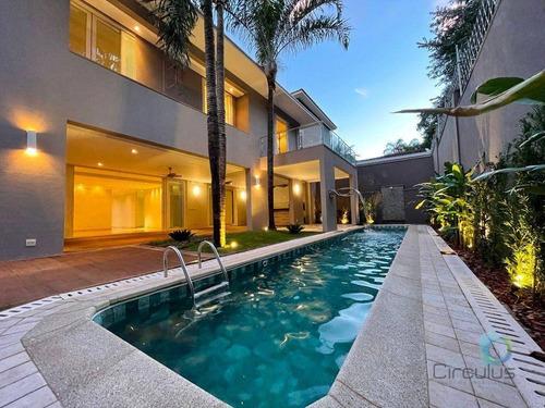 Imagem 1 de 30 de Condomínio Manacás -  4 Suítes À Venda, 542 M² Por R$ 2.890.000 - Ribeirão Preto/sp - Ca1563