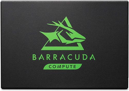 Seagate Barracuda 120 500gb Disco Ssd Sata 6 Gb/s 2.5 In