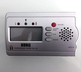 Afinador Korg Ga-30 Guitarra Violão Baixo E Outros