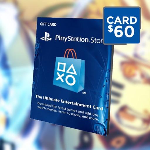 Cartão Playstation R$60 Reais Psn Brasil Brasileira