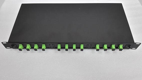 Dio Completo 12fo - Distribuidor Interno Optico Sc Apc 1u